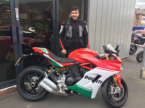 Ducati Stoke Customers