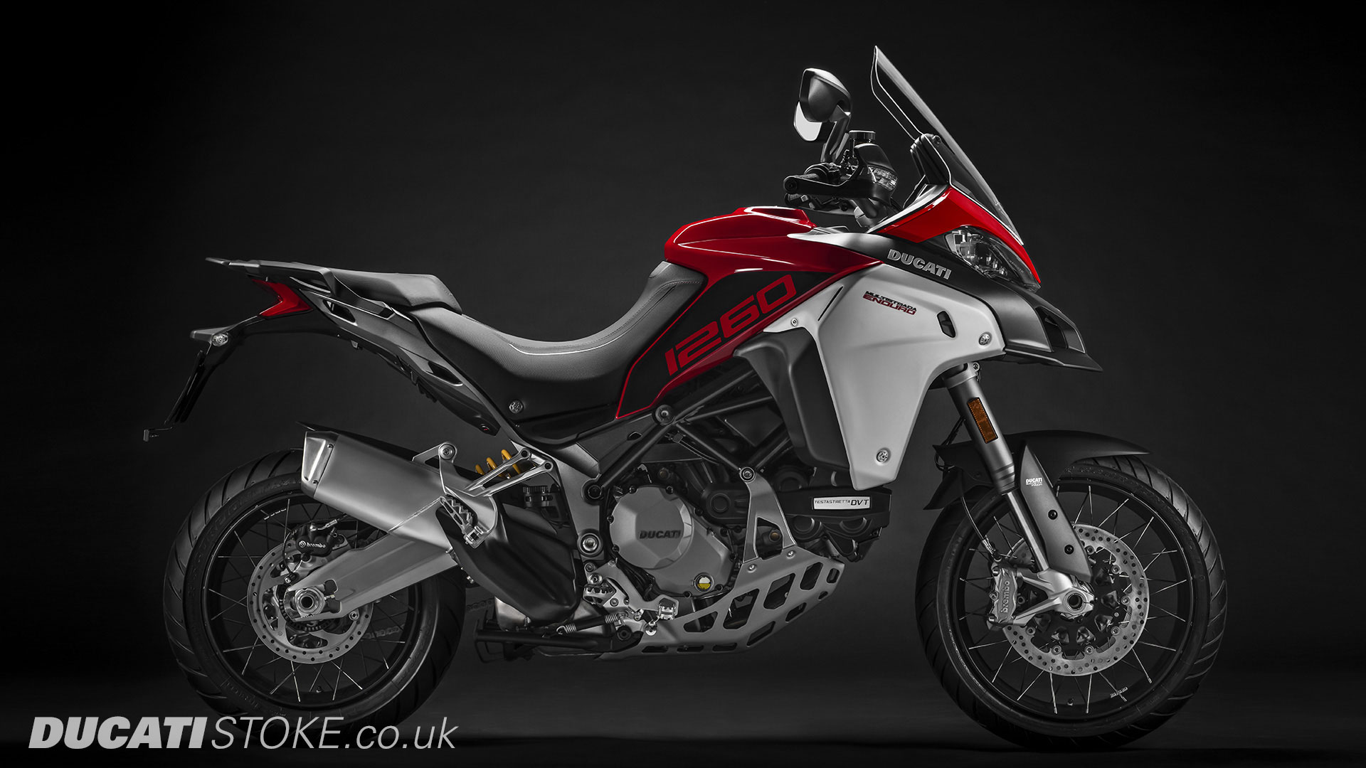 2019 Ducati Multistrada 1260 Enduro for sale at Ducati Stoke, Staffordshire, Scotland